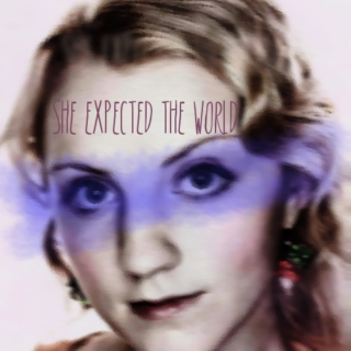 She Expected the World // A Luna Lovegood Fanmix