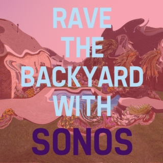 Rave the backyard with sonos