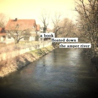 a book floated down the amper river