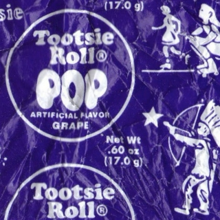 best of 2013 (so far): the center of the tootsie roll (the 'indian' shooting the star)