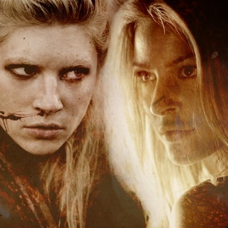 with fire and blood
