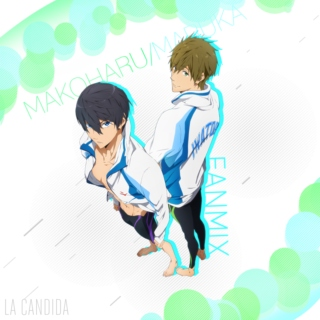MakoHaru/Maruka Fan Mix
