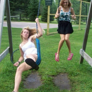 I tried swing once...