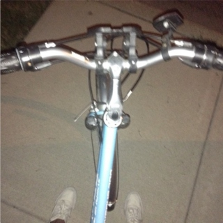 late night bike rides