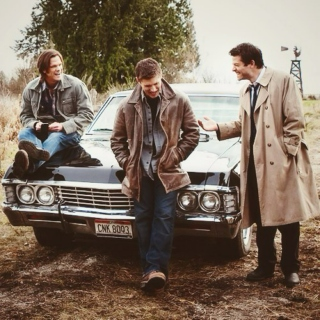 Two brothers, their car and an angel.