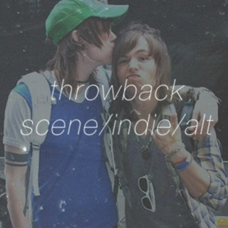 throwback scene/indie/alt
