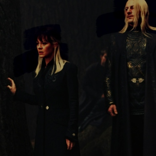 i'll be right beside you, dear: a lucius/narcissa mix