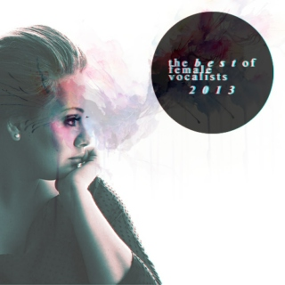 the best of female vocalists 2013