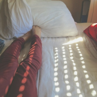 Early mornings in bed turn into afternoons
