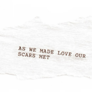 As We Made Love Our Scars Met