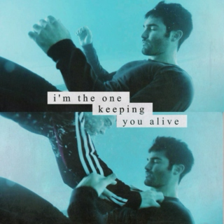i'm the one keeping you alive // a sterek mix