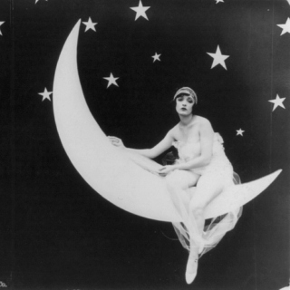 The Lady On The Moon