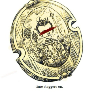 time staggers on (quintinius verginix&cloud wolf)