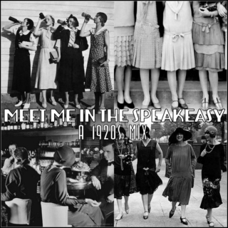 meet me in the speakeasy: a 1920s mix