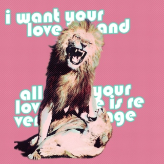 i want your love (and all your love is revenge)