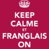 Frenchies singing in anglais