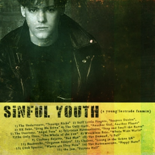Sinful Youth (a young lestrade fanmix)
