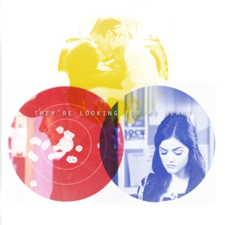 aria&ezra | they're looking for my heart