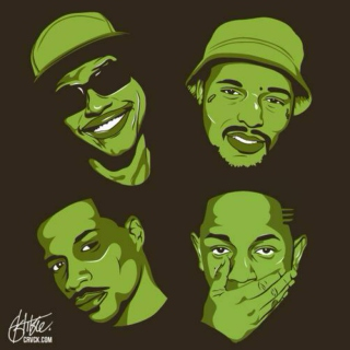 Top Dawg Entertainment (Black Hippy $hit)