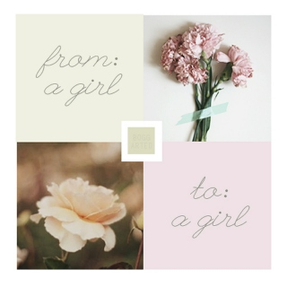 from: a girl, to: a girl