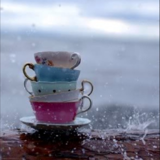 Drink a cup of tea and enjoy the rain.