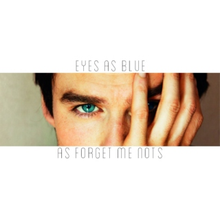 Eyes As Blue As Forget Me Nots