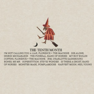 the tenth month.