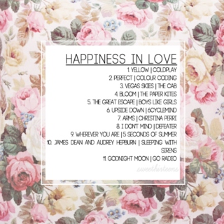 happiness in love