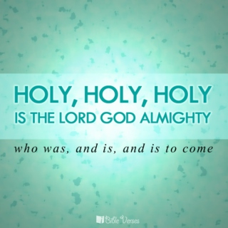 What Do I know of Holy?