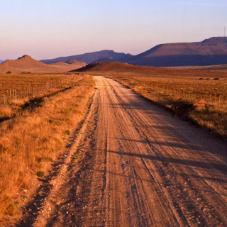 dusty roads and bright sunshine