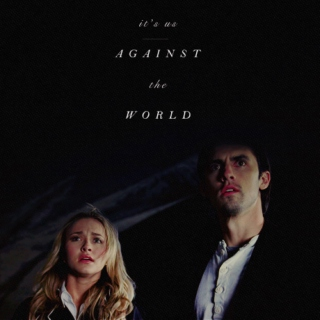 It's us against the world