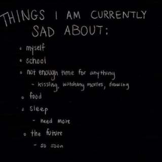 just a little sad ☹