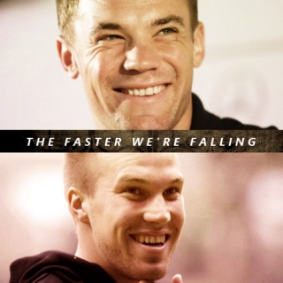 The faster we're falling