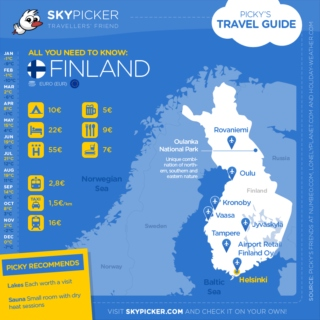 Skypicker destination: Finland