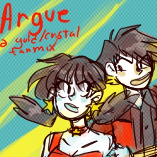 Argue-a gold/crystal mix