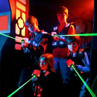 My Own Private Laser Tag