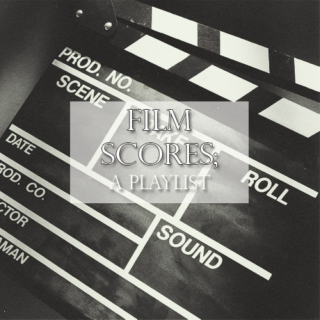 Film scores 2013; a playlist