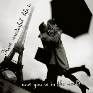 How wonderful life is, now you're in the world: A Combereille mix