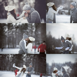 ❄ First Snow,First Love. ♡