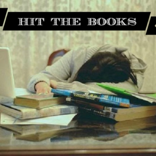 hit the books