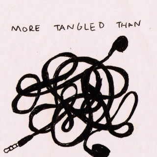 I've got thoughts more tangled than my earphones