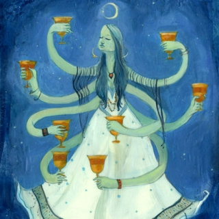 Eight of Cups.