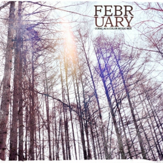 February ((Coral as a Color))
