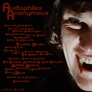 Audiophiles Anonymous Halloween '10 Special mix