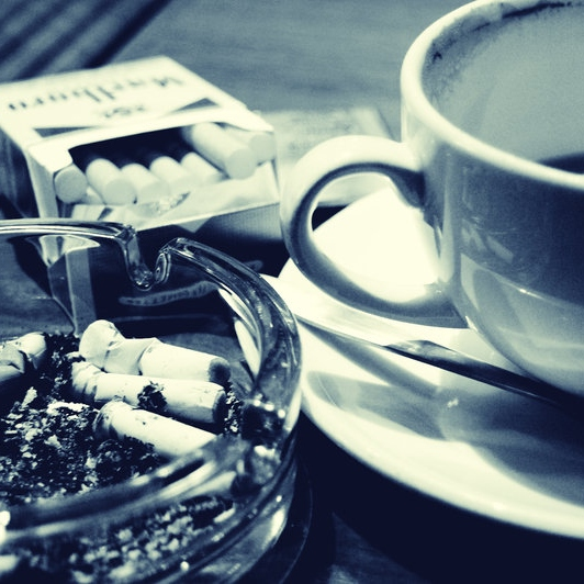 coffee, cigarettes & tragic french songs