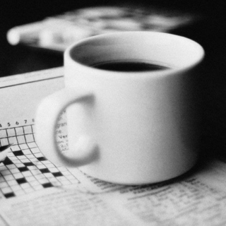 crosswords, cross words & caffeine.