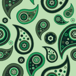 Paisley Pattern Retro