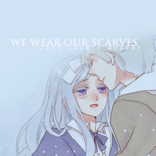 we wear our scarves (just like a noose)