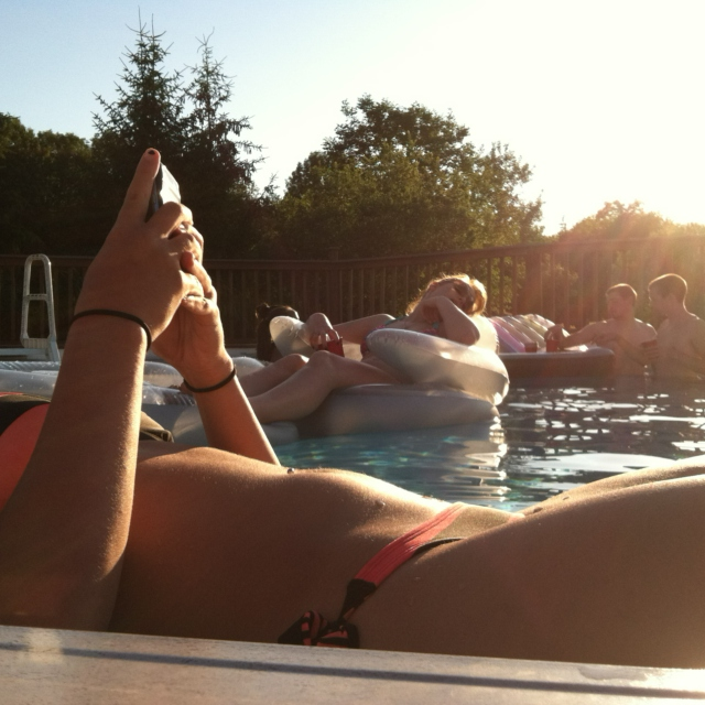It's summertime fun, relax and stay young