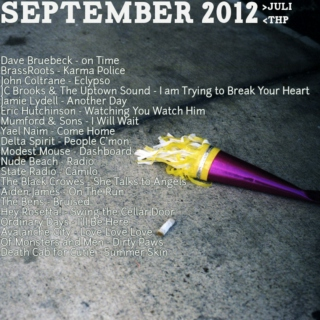 September Mixtape 2012